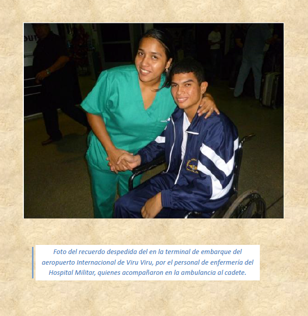 Cadete Cristian Cruz